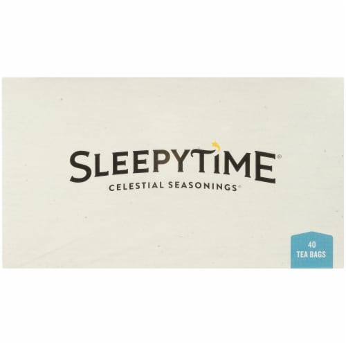 Celestial Seasonings Sleepytime Extra Herbal Wellness Tea Bags Perspective: top
