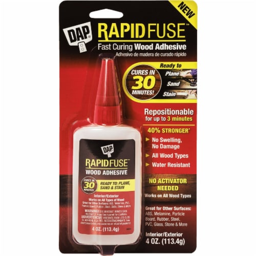 DAP® Rapid Fuse™ Wood Adhesive Perspective: top