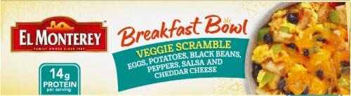 El Monterey Veggie Scramble Frozen Breakfast Bowl Perspective: top
