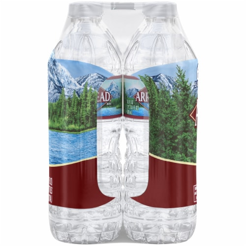 Arrowhead 100% Mountain Spring Water Perspective: top