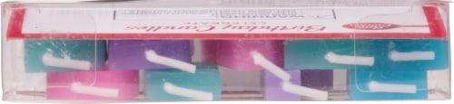 Betty Crocker™ Metallic Celebrate Birthday Candles Perspective: top