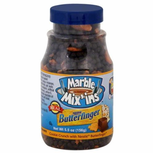 Marble Mix'ins Butterfinger Cookie Crunch Perspective: top