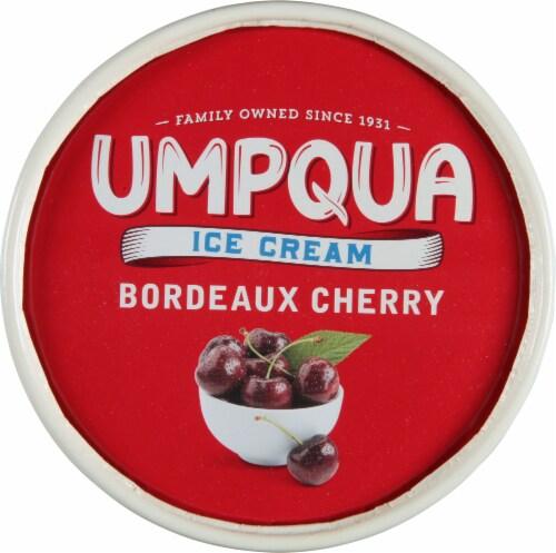 Umpqua Bordeaux Cherry Ice Cream Perspective: top
