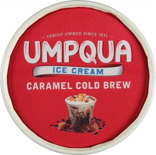 Umpqua Caramel Cold Brew Ice Cream Perspective: top