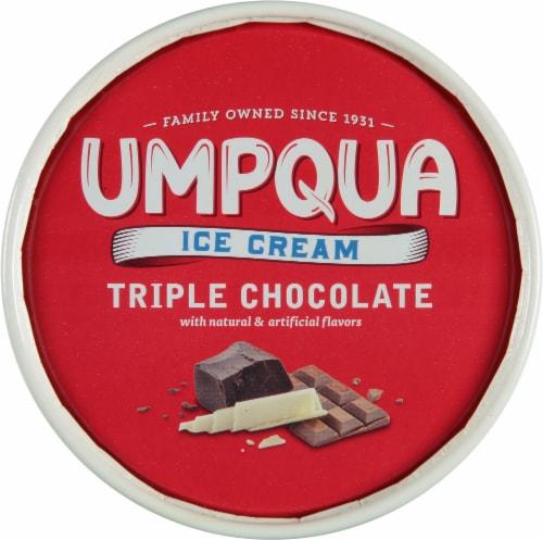 Umpqua Triple Chocolate Ice Cream Perspective: top