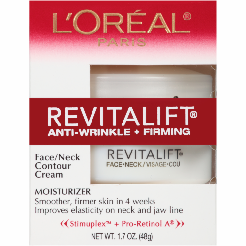 L'Oreal Paris Revitalift Anti-Wrinkle + Firming Face & Neck Day Moisturizer Perspective: top