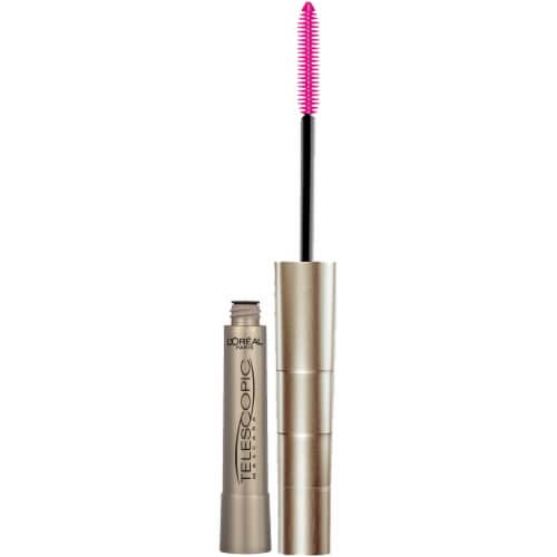 L'Oreal Paris Telescopic 915 Black Brown Lengthening Mascara Perspective: top