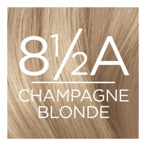 L'Oreal Paris Excellence Creme 8.5A Champagne Blonde Hair Color Perspective: top