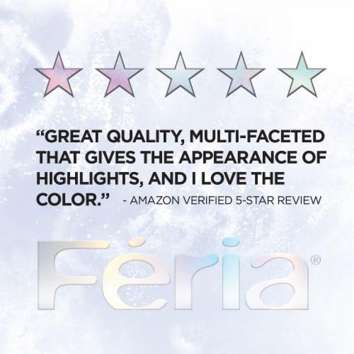 L'Oreal Paris Feria Hair Color Kit - B61 Hi-Lift Cool Brown Hair Perspective: top