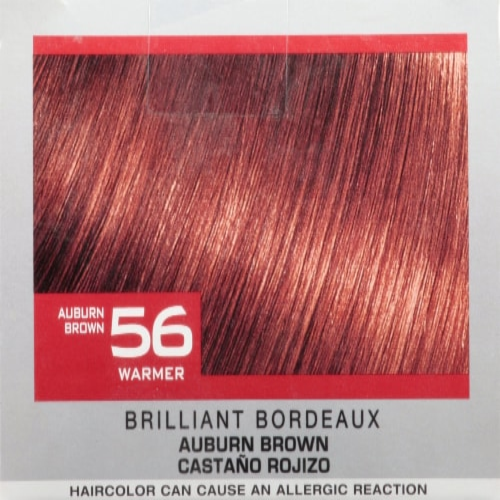 L'Oreal® Paris Feria 56 Brilliant Bordeaux Permanent Hair Color Kit Perspective: top