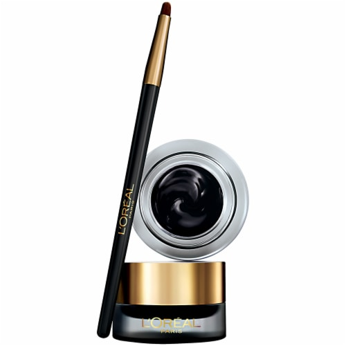 L'Oreal Paris Infallible Never Fail 171 Blackest Black Gel Lacquer Eyeliner Perspective: top