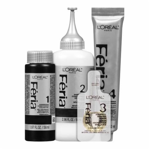 L'Oreal® Feria Absolute Platinum Very Platinum Hair Color Perspective: top