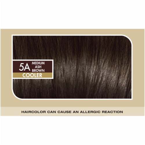 L'Oreal Paris Superior Preference 5A Medium Ash Brown Cooler Hair Color Perspective: top