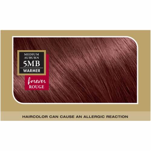 L'Oreal® Paris Superior Preference® 5MB Medium Auburn Hair Color Perspective: top