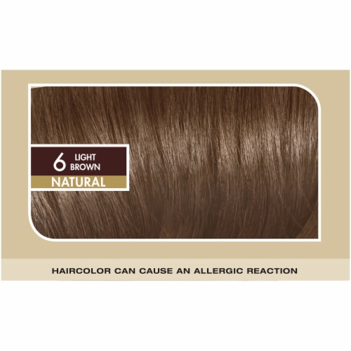 L'Oreal Paris Superior Preference Natural Light Brown 6 Permanent Hair Color Perspective: top