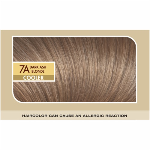 L'Oreal Paris Superior Preference 7A Dark Ash Blonde Cooler Hair Color Perspective: top