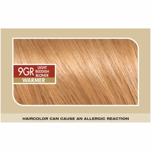 L'Oreal® Paris Superior Preference® 9GR Light Reddish Blonde Permanent Hair Color Kit Perspective: top