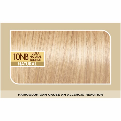 L'Oreal® Paris Superior Preference® Ultra Natural Blonde 10NB Hair Color Kit Perspective: top