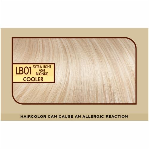 L'Oreal Paris Preference LB01 Extra Light Ash Blonde Hair Color Perspective: top