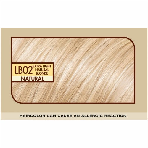 L'Oreal Paris Preference LB02 Extra Light Natural Blonde Hair Color Perspective: top