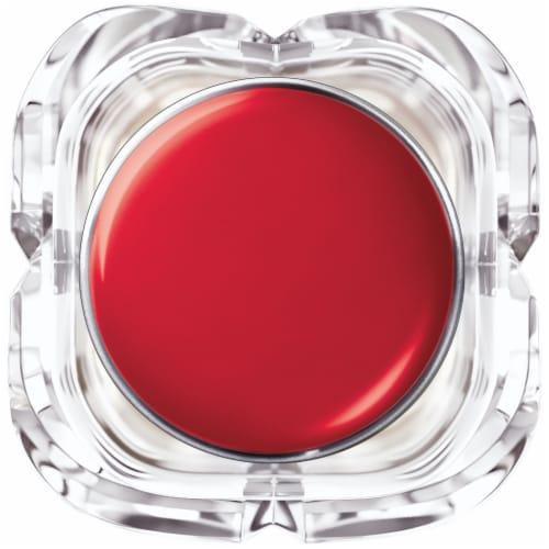L'Oreal Paris Colour Riche Enamel Red Shine Lipstick Perspective: top