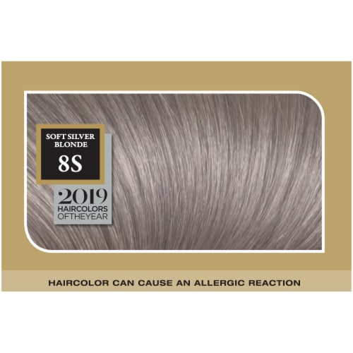 L'Oreal® Paris Superior Preference® 8S Soft Silver Blonde Permanent Hair Color Perspective: top