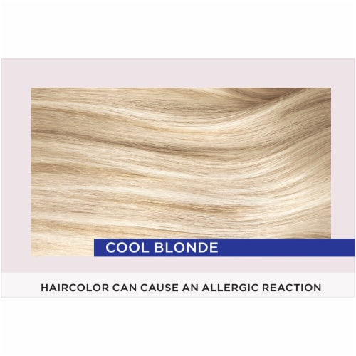 L'Oreal Paris Le Color Gloss Cool Blonde Temporary Hair Color Perspective: top