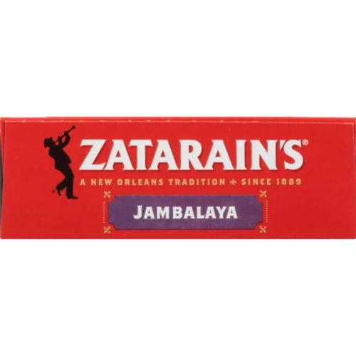 Zatarain's® Original Jambalaya Mix Family Size Perspective: top