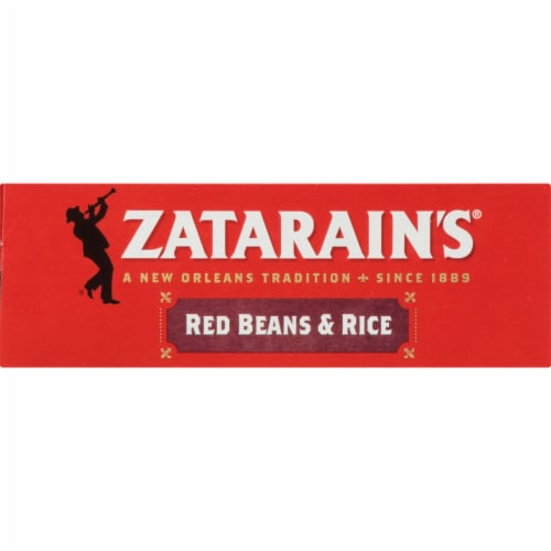 Zatarain's® Red Beans & Rice Dinner Mix Family Size Perspective: top