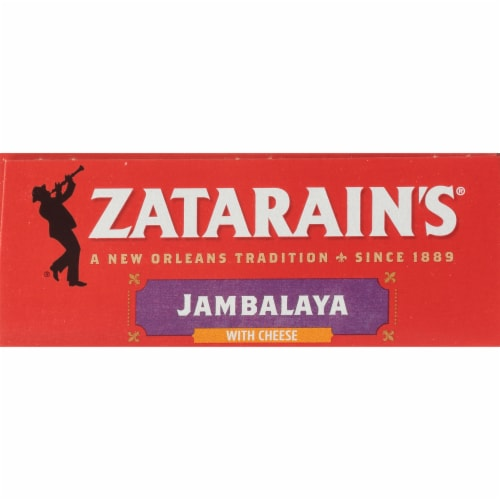 Zatarain's One Pot Jambalaya with Cheese Rice Mix Perspective: top