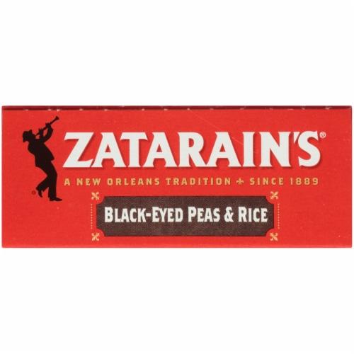 Zatarain's® Black-Eyed Peas & Rice Perspective: top