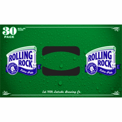 Rolling Rock® Extra Pale Beer Perspective: top