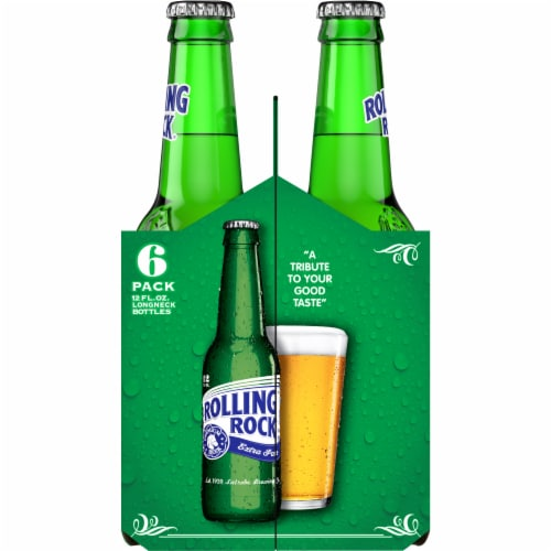 Rolling Rock Extra Pale Beer Perspective: top
