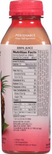 Bolthouse Farms Tropical Goodness with Chia Fruit Juice Smoothie Perspective: top