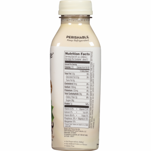 Bolthouse Farms Vanilla Chai Tea Protein Tea & Soy Beverage Perspective: top