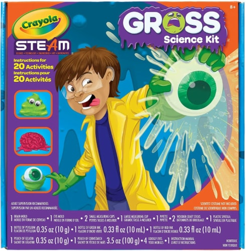Crayola Gross Science Lab Kit Perspective: top