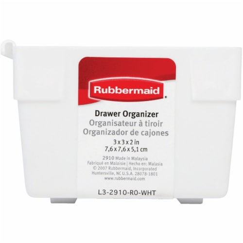 Rubbermaid 3in. X 3in. X 2in. Drawer Organizers Perspective: top