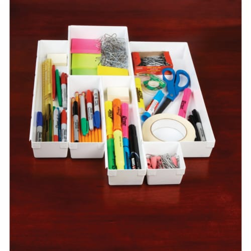 Rubbermaid 9in. X 3in. X 2in. Drawer Organizers Perspective: top