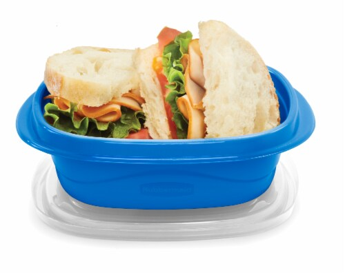 Rubbermaid® Take Alongs On The Go Square Containers Perspective: top