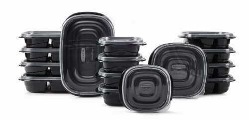 Rubbermaid Take Alongs Meal Prep Containers Perspective: top