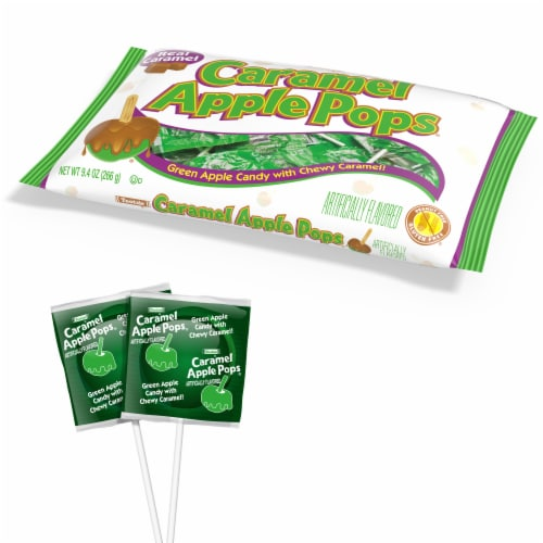 Tootsie® Roll Caramel Apple Pops® Perspective: top
