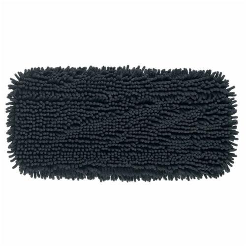Libman® High Power Microfiber Floor Mop Refill - Black - Extra Large Perspective: top