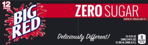Big Red® Zero Sugar Soda Perspective: top