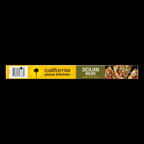California Pizza Kitchen Sicilian Recipe Crispy Thin Crust Frozen Pizza Perspective: top