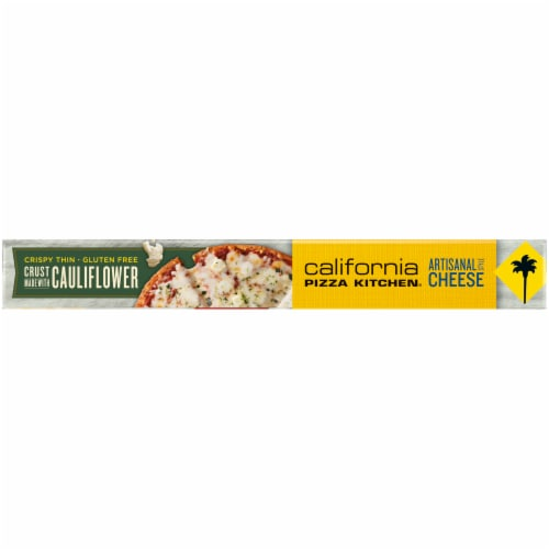 California Pizza Kitchen® Artisanal Style Cheese Frozen Pizza with Cauliflower Pizza Crust Perspective: top