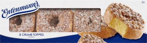Entenmann's® Crumb Topped Donuts Perspective: top