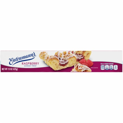 Entenmann's Raspberry Danish Twist Perspective: top