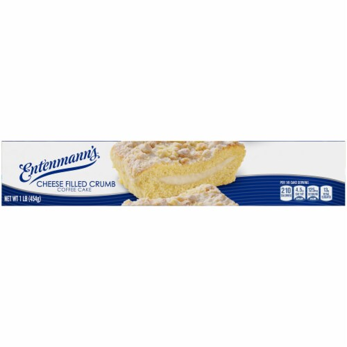 Entenmann's Cheese Filled Crumb Coffee Cake Perspective: top