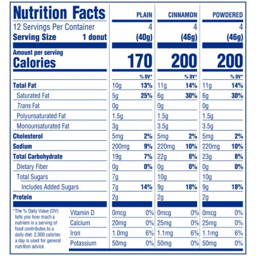 Entenmann's® Soft'ees® Donut Variety Pack Perspective: top