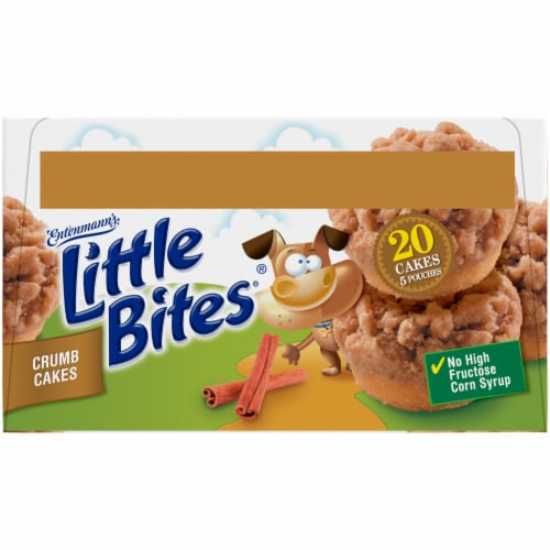 Entenmann's® Little Bites® Crumb Cakes Mini Muffins Perspective: top